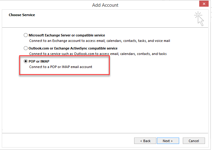 Configuring IMAP Email Accounts in Outlook – GFI Support